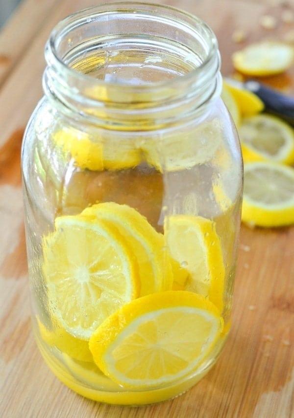 Homemade Lemonade Water
