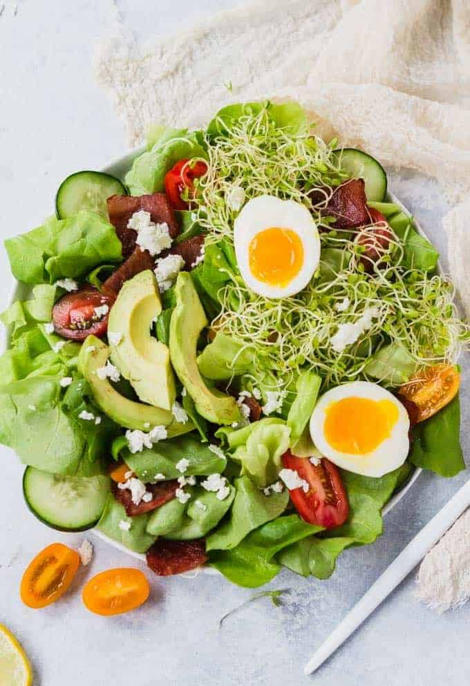 Cobb Green Goddess Salad