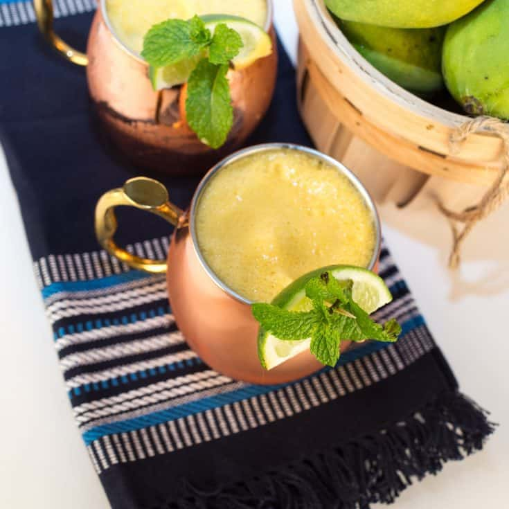 Mango Pineapple Moscow Mule