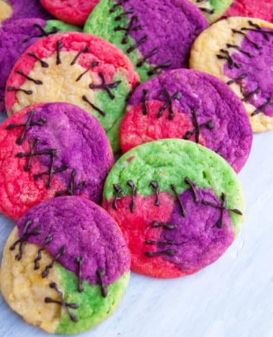 Sugar Cookies with Stitches