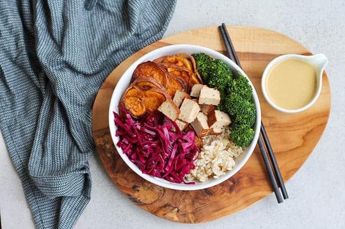 Winter Vegetable Meal Prep Bowls