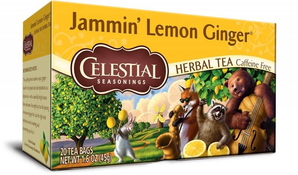 Celestial Seasonings Lemon Ginger Herbal
