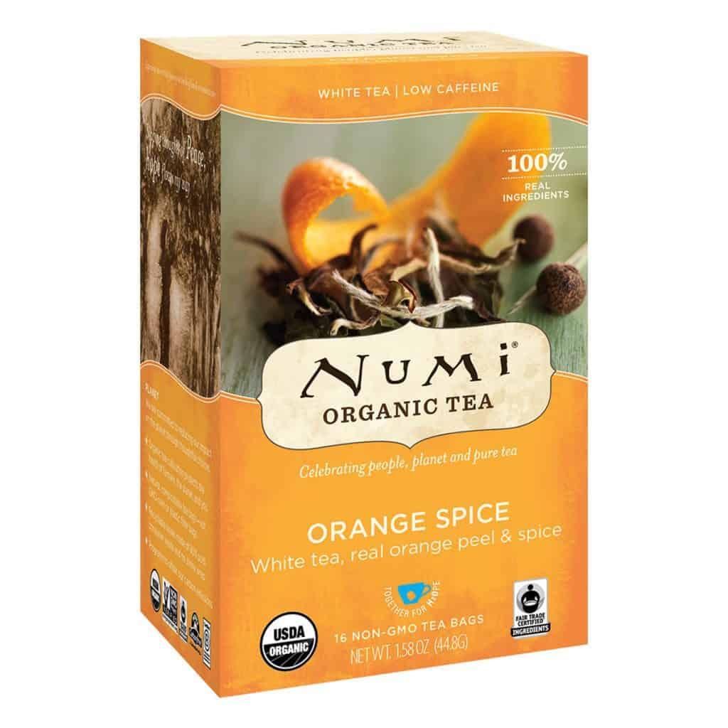 Numi Organic Orange Spice Tea