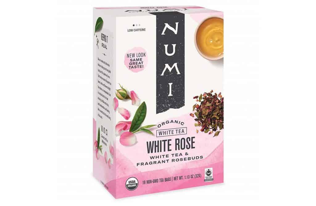 Numi Organic White Rose Tea