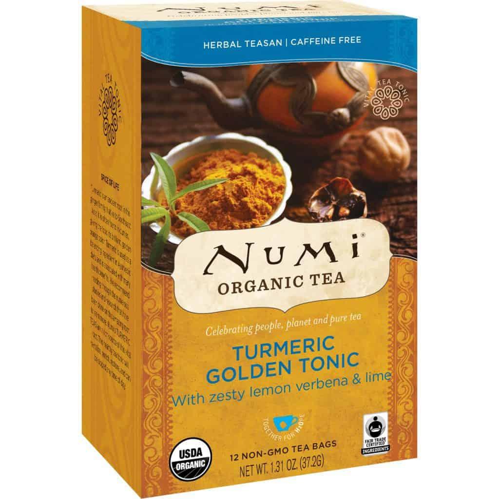 Numi Turmeric Tea Golden Tonic