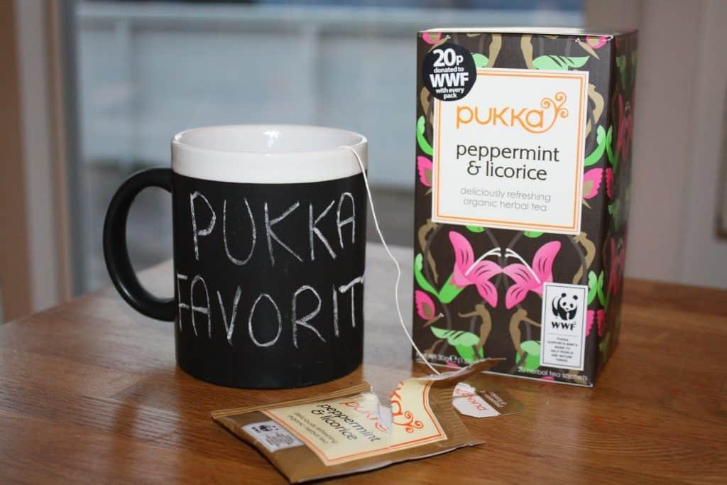 Pukka Peppermint and Licorice Organic Herbal Tea