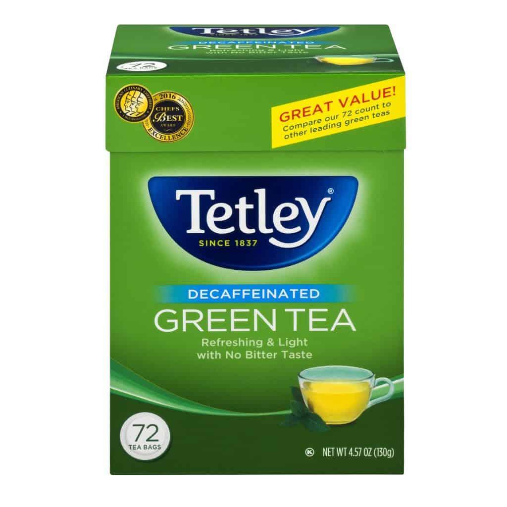 Tetley Decaffeinated Green Tea
