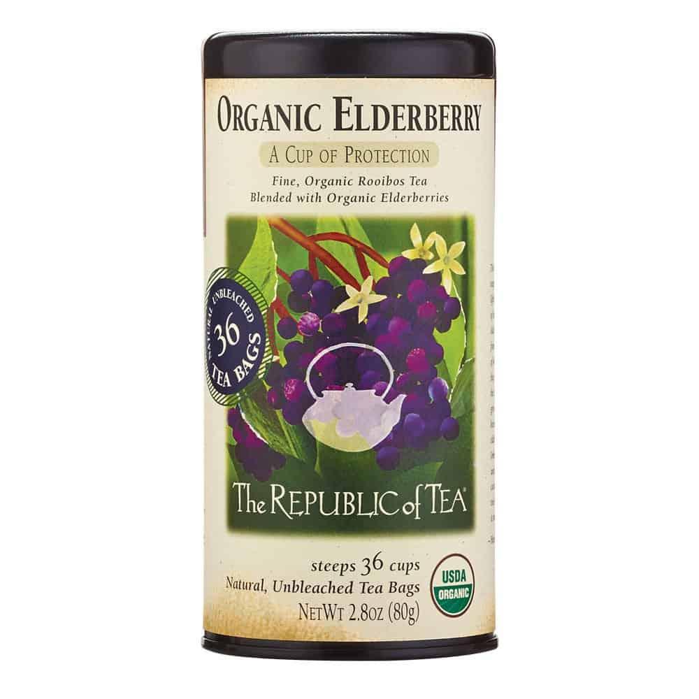 The Republic of Tea Organic Elderberry Red