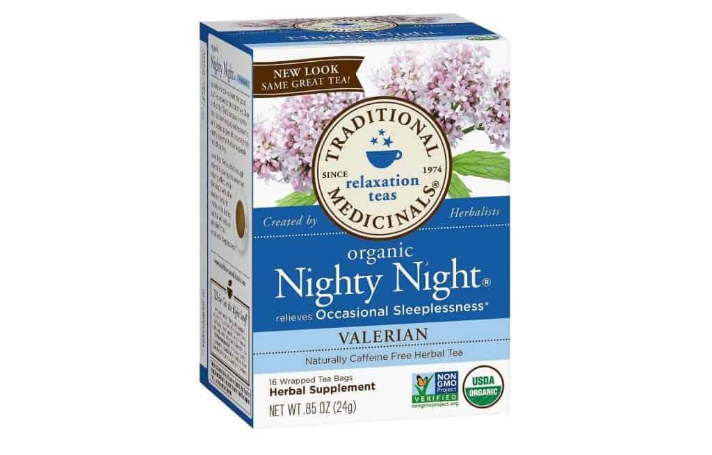 Traditional Medicinals Nighty Night Valerian Tea