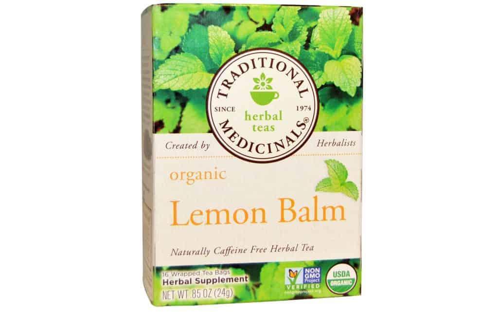 Traditional Medicinals Organic Lemon Balm