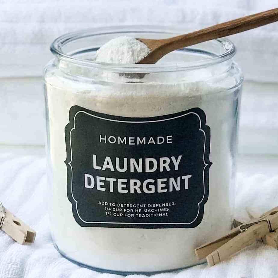 Steps to Make Powder Laundry Detergent