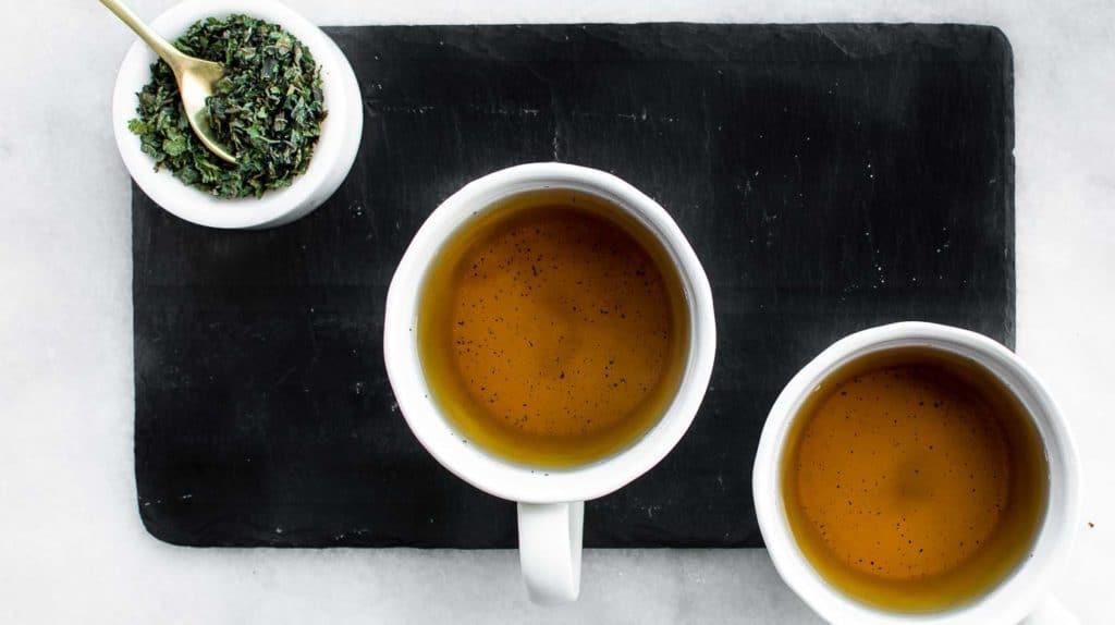Simple Hot Nettle Tea
