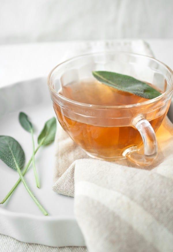 Sage Tea with Mint