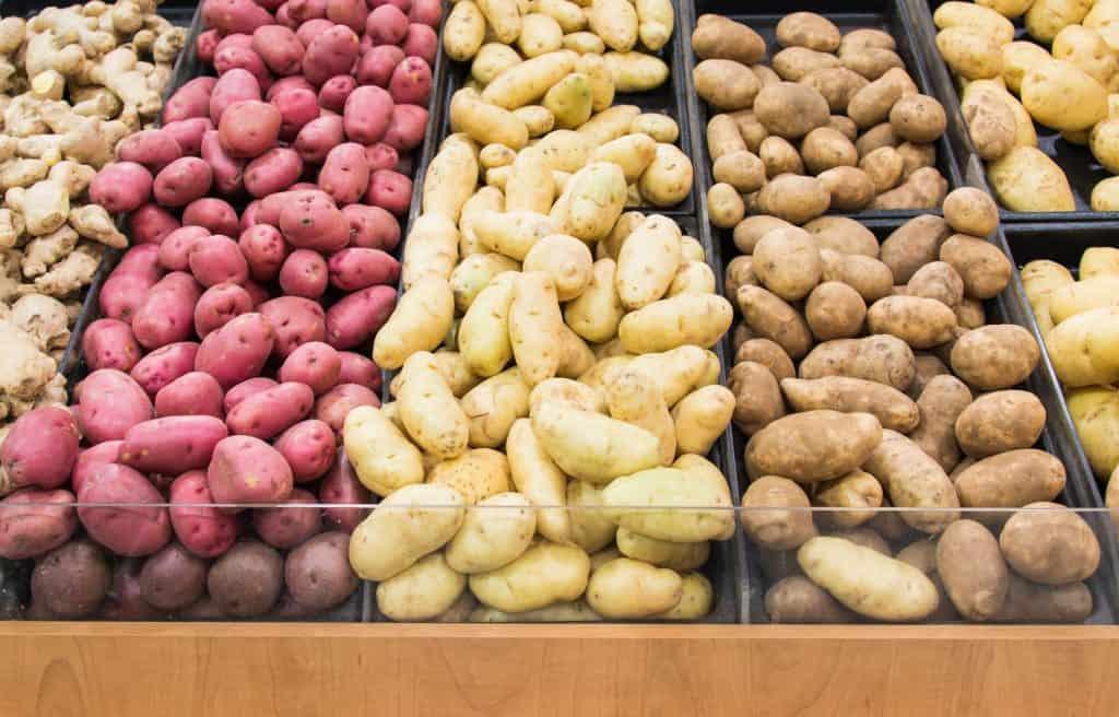 Popular Potato Types