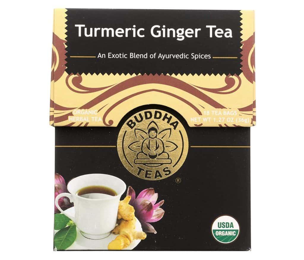 Buddha Teas Turmeric and Ginger