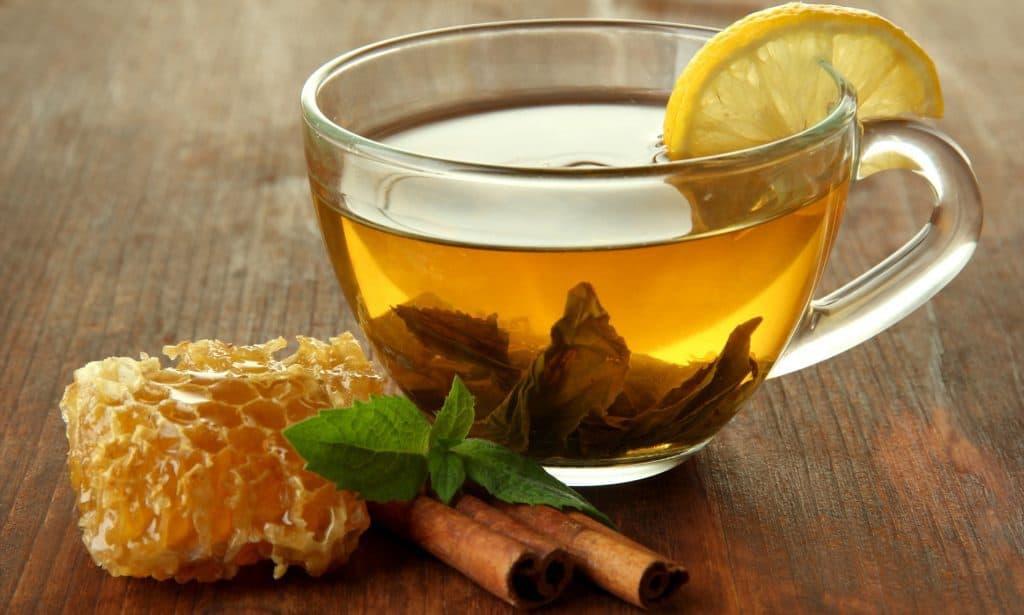 Green Tea with Cinnamon