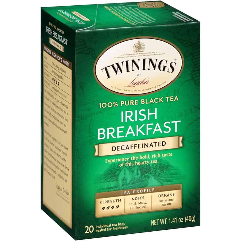 Twinings Decaffeinated Irish Breakfast